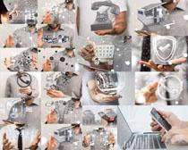 商务科技展示拍摄高清图片