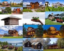 美丽别墅建筑摄影高清图片