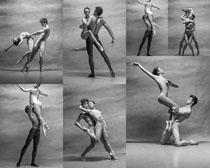 艺术舞蹈男女拍摄高清图片