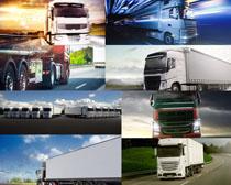 大型货运汽车摄影高清图片