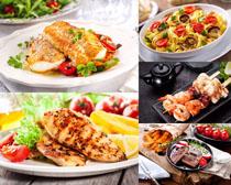 烤类食物摄影高清图片