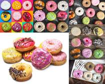 甜甜圈饼摄影高清图片