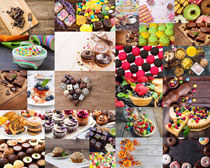 巧克力蛋糕甜品摄影高清图片