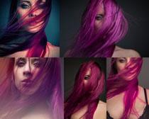 红头发美女拍摄高清图片