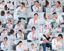 看病的女医生摄影高清图片
