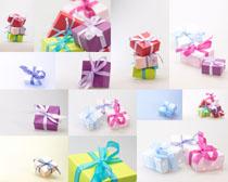 节日礼盒包装摄影高清图片