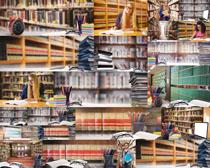 图书馆大学生摄影高清图片