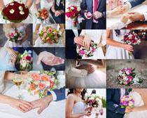 婚礼鲜花拍摄高清图片