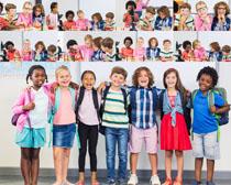 欧洲小学生摄影高清图片