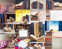 学习书本摄影高清图片