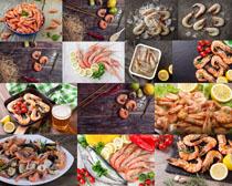 海鲜食材展示摄影高清图片