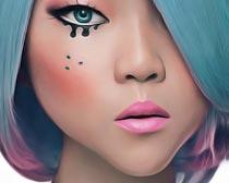 唯美的人像油画艺术效果PS动作