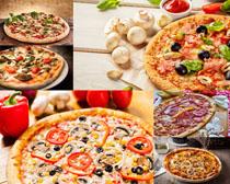 披萨美食摄影高清图片