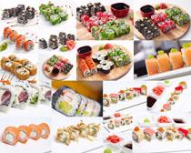 国外寿司美食摄影高清图片