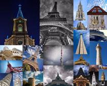 建筑塔摄影高清图片