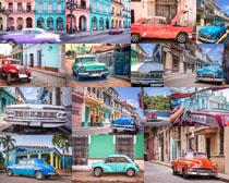 欧美老式轿车摄影高清图片