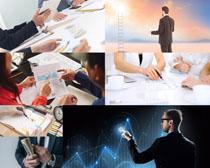 商务职业男士摄影高清图片
