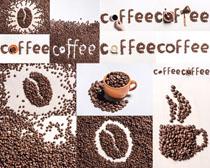 食材咖啡果摄影高清图片