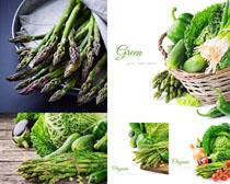 绿色青菜食物摄影高清图片
