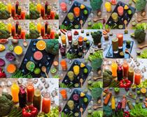 水果饮料拍摄高清图片