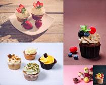 水果小蛋糕摄影高清图片