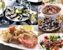 海鲜食物拍摄高清图片