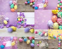 色彩鸡蛋创意摄影高清图片