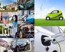 能源小汽车摄影高清图片