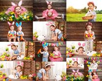 开心小女孩写真拍摄高清图片