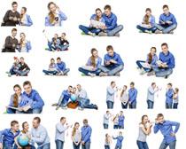 甜蜜青年情侣摄影高清图片