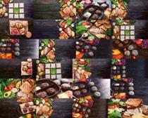 牛排鸡蛋食物拍摄高清图片