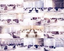 商务办公室布置摄影高清图片