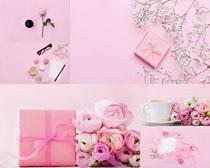 节日礼物花朵摄影高清图片
