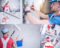 欧美技术工人摄影高清图片