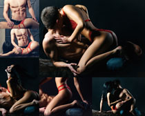 亲密性感男女摄影高清图片