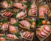 肉类食物展示摄影高清图片
