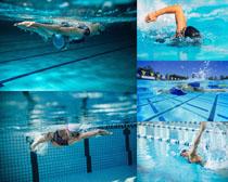 游泳运动人物摄影高清图片