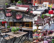茶餐厅户外摄影高清图片