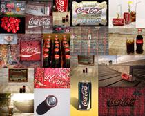可乐瓶拍摄高清图片