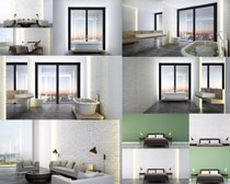 3D室内布置设计摄影高清图片