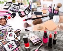 女性化妆工具摄影高清图片
