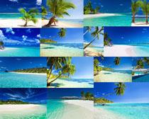 蓝色海洋风景摄影高清图片
