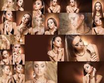 欧美化妆美女摄影高清图片