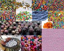 各种珠子摄影高清图片