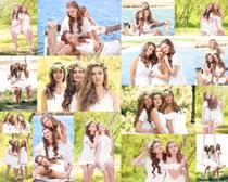 欧美姐妹美女摄影高清图片