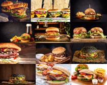 食物汉堡包拍摄高清图片
