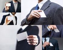 名片商务男人摄影高清图片