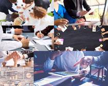 讨论会议商务人士摄影高清图片