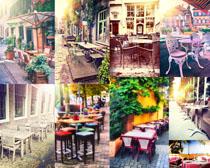 休闲户外餐吧摄影高清图片