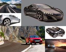 汽车跑车展示拍摄高清图片
